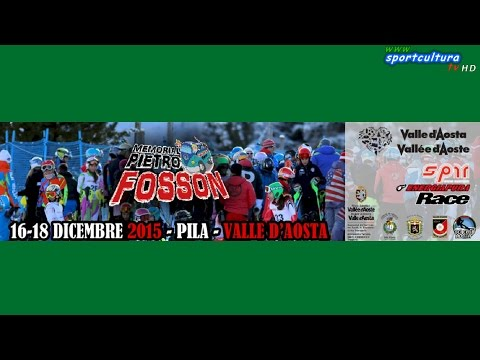 Memorial Fosson 2015 - Slalom Gigante categoria Allievi 1° manchei ENERGIAPURA CUP #sport #sci