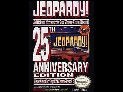 NES Jeopardy! 25th Anniversary Edition ORIGINAL RUN Game #5