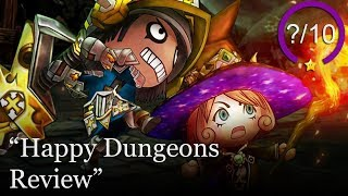 Happy Dungeons Review [PS4 & Xbox One] - Free to Play (Video Game Video Review)