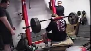 Westside Barbell Old School Low Box With Safety Squat Bar