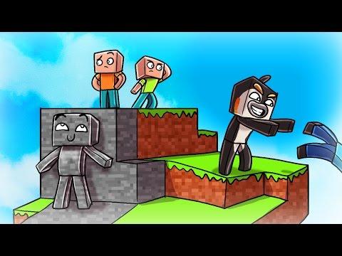 I AM STONE!   Minecraft Skywars Trolling! (I AM STONE CHALLENGE)