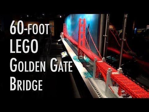 LEGO Golden Gate Bridge | Museum of Science and Industry