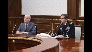 Президент Узбекистана принял командующего CENТCOM США