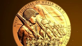 """Congressional Gold Medal documentary: Japanese American WWII Nisei Veterans """"American Heroes"""""""