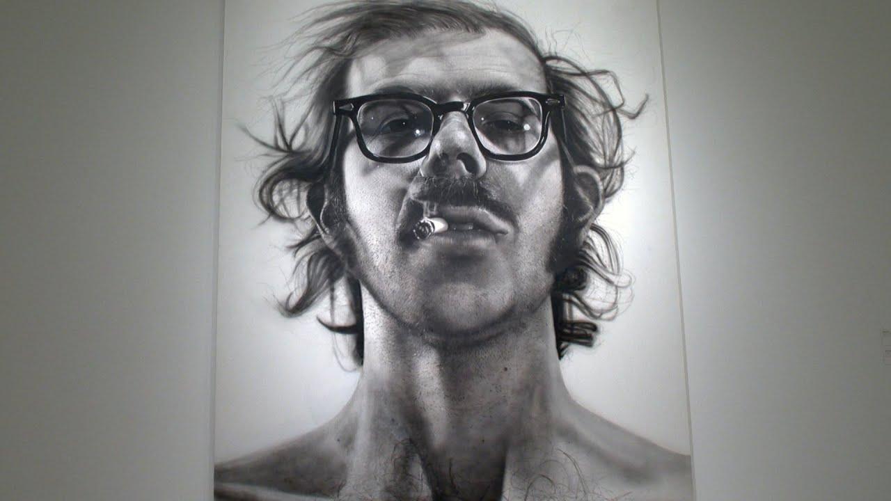 Chuck close discusses big self portrait 1967 1968 youtube