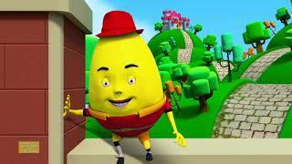 Humpty Dumpty Sat On A Wall | Baby Songs | Nursery Rhymes For Kids