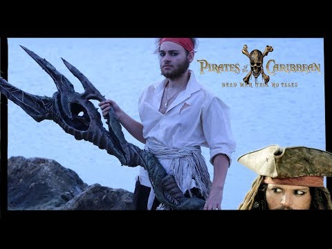 Poseidon's Trident - DIY Prop (Pirates Of The Caribbean Dead Men Tell No Tales)
