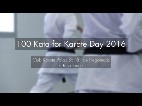 100 Kata for Karate Day: Club Karate Palau Solità i de Plegamans
