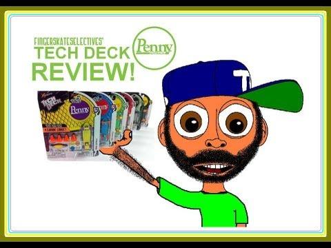 Tech Deck Penny Review!!