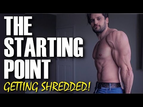 THE SHRED BEGINS! NOTHING TO HIDE   REAL PHYSIQUE, DIET & TRAINING BREAKDOWN!   Dedicated Ep. 4