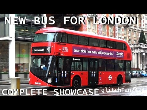 [London United] New Bus For London Complete Showcase