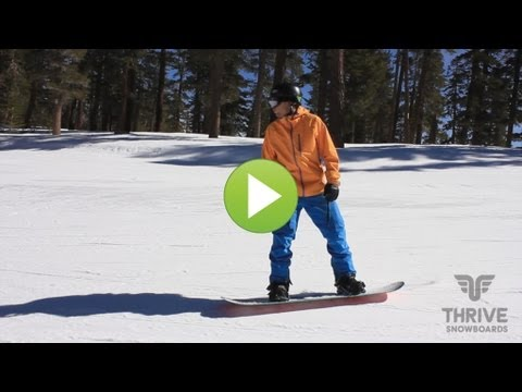 How To Snowboard: Stop and Go