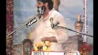 Shokat Raza Shokat Khutba e Ghazi Abbas jashan at Gojar Khan