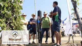 Irritec - novità irrigazione vigneto - #Enovitis in campo 2017