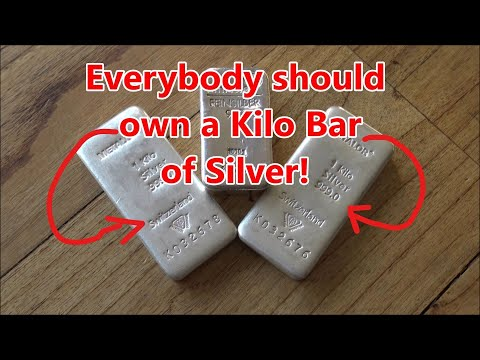 This is why Everybody should Own a Kilo Bar of Silver!!!