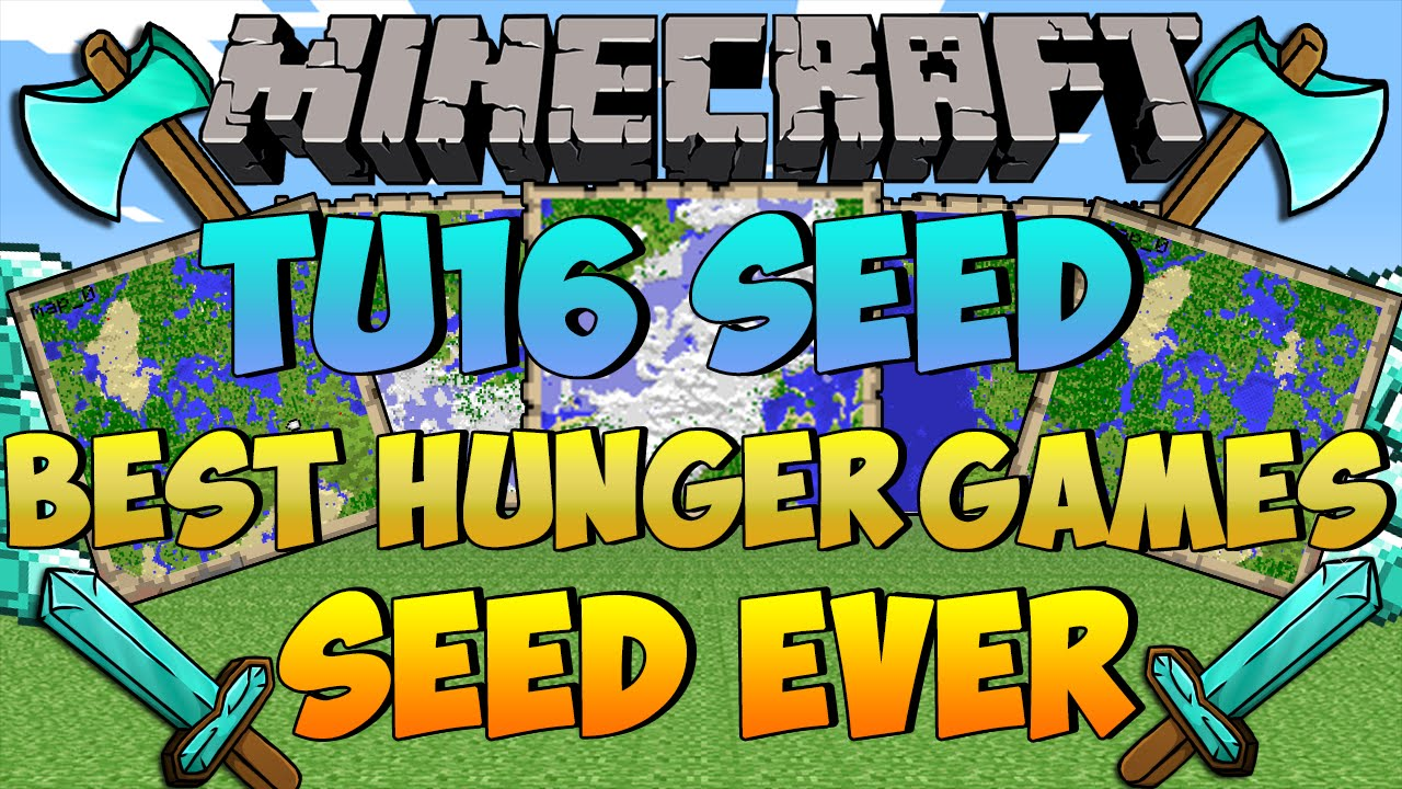 Minecraft Seed Showcase (Xbox ONE/PS12) - TU12 SEED - BEST HUNGER GAMES SEED  EVER