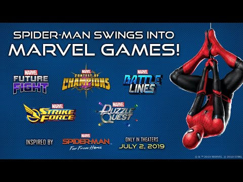 Spider-Man Swings into Marvel Games with 'Spider-Man: Far From Home'-Inspired Event