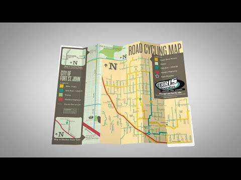 St. John's bicycle PocketMaps
