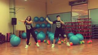 Hypasounds - Get up and move (Bubble) - Zumba Fitness Choreo by Nichol