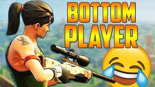 Fortnite Battle Royale Bottom Player // 200+ Kills // 10 Wins