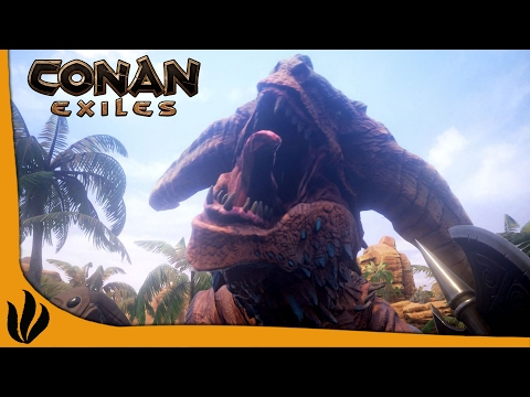 how to kill dragon conan exiles