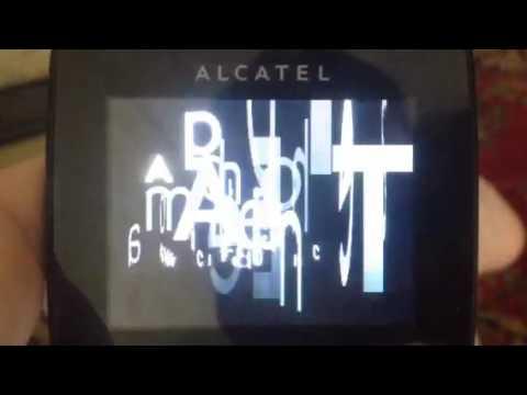 Alcatel OT-808 Startup/shutdown 2009