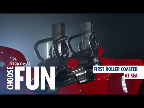 Pat Walsh | 7pm - 10pm - Carnival Cruise Line unveils roller coaster on board new ship