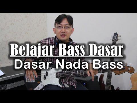 Belajar Bass Dasar - Belajar nada bass pemula