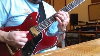 Jazz swing improvisation: I - VI - ii - V in C