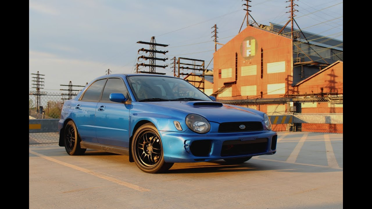 2002 Subaru Impreza Wrx Samdmedia Youtube