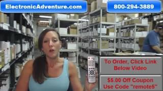 Original Sharp 9JM305110133 Air Conditioner Remote Control Coupon $5 Off -- ElectronicAdventure.com