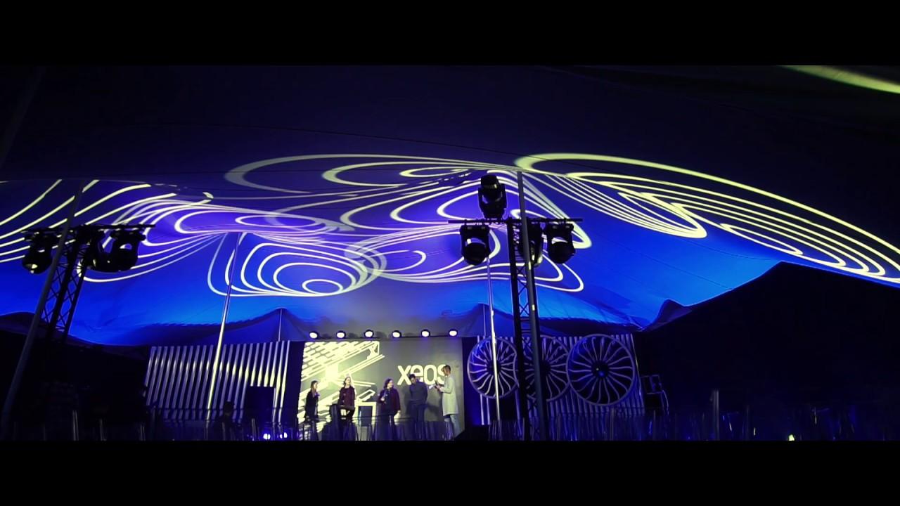 Tentes stretch RHI® - Evénement d'entreprise - 630m2 - Photo credit Ukoo Group
