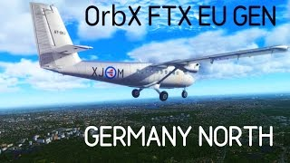 P3D v3.4 OrbX FTX EU Germany North Part 3 (feat. Aerosoft Twin Otter Extended)