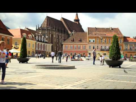 The most beautiful city in Romania - Brasov 2015