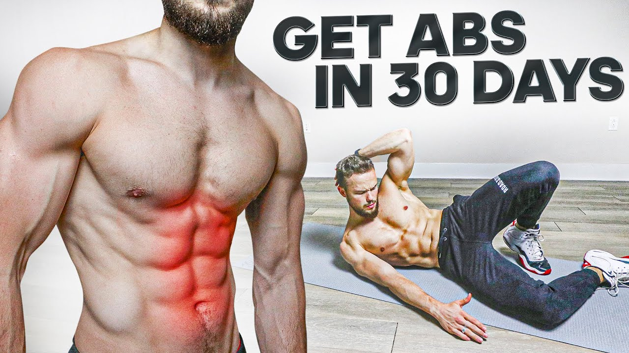 Get ABS in 30 DAYS (Workout Challenge)