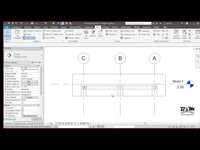 Revit Structures | 07 Propiedades de Pisos Estructurales