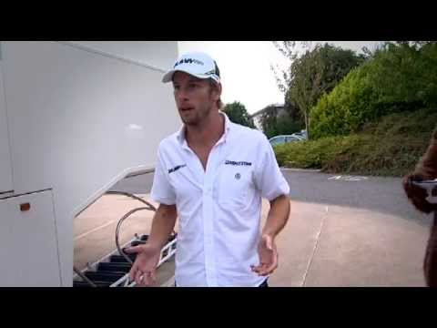 Bear attack, F1 interview disaster with Jenson Button