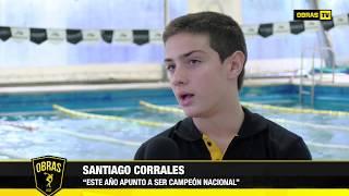 Santiago Corrales - Natación Club Obras (27-05-2017)
