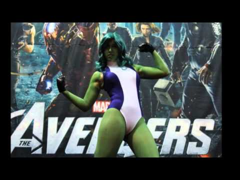 she hulk cosplay sex