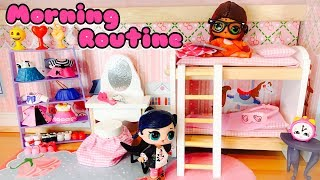 Miraculous Ladybug Mauvaise Alya et Bonne Marinette Morning Routine Bad Alya & Good Marinette Dolls