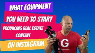 Daily #21. - This is the only equipment you need to produce daily Real Estate content.