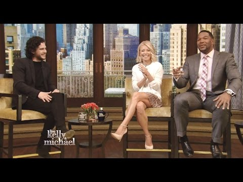 Kit Harington - Chats About Season 5 'Game Of Thrones' - Kelly & Michael