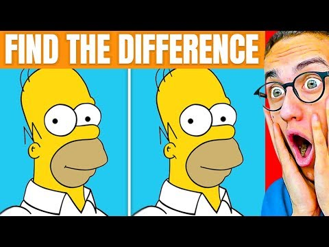 Can You Beat This IMPOSSIBLE SPOT THE DIFFERENCE CHALLENGE?!