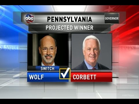 Democrat Tom Wolf Projected to Win PA Governor Race