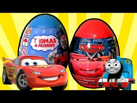 Surprise Thomas & Friends Holiday Edition Disney Cars Easter Eggs Awesome Toys Surprise