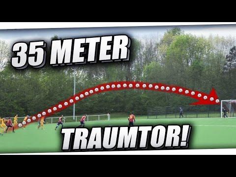 TRAUMTOR AUS 35 METERN!😱 TOR DES MONATS?!⚽ HARTES SPIEL FT. ROTE KARTE, HARTE FOULS & MEHR! PMTV