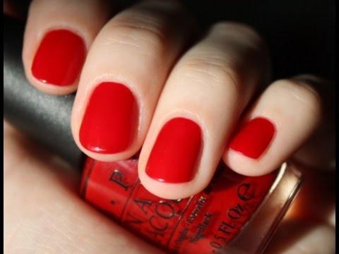 Маникюр на короткие ногти фото красного цвета