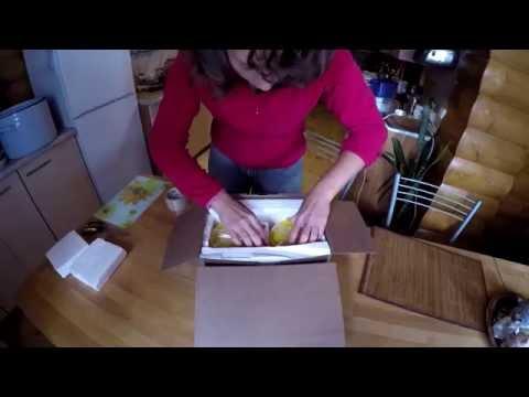 Как отправить яблоки в посылке
