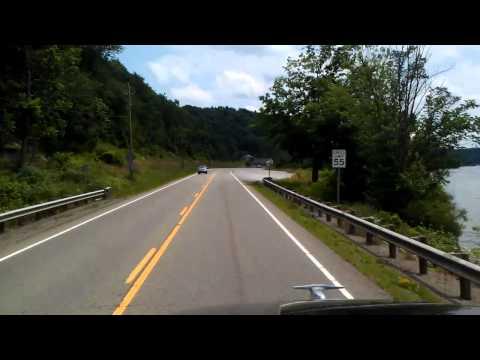 Tappan Lake Region on US Highway 250 East in Ohio