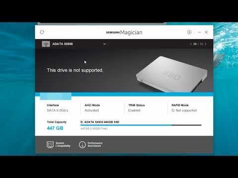 SAMSUNG 500GB SSD Series 850 Evo (MZ-75E500B) - SAMSUNG MAGICIAN 5.2.0